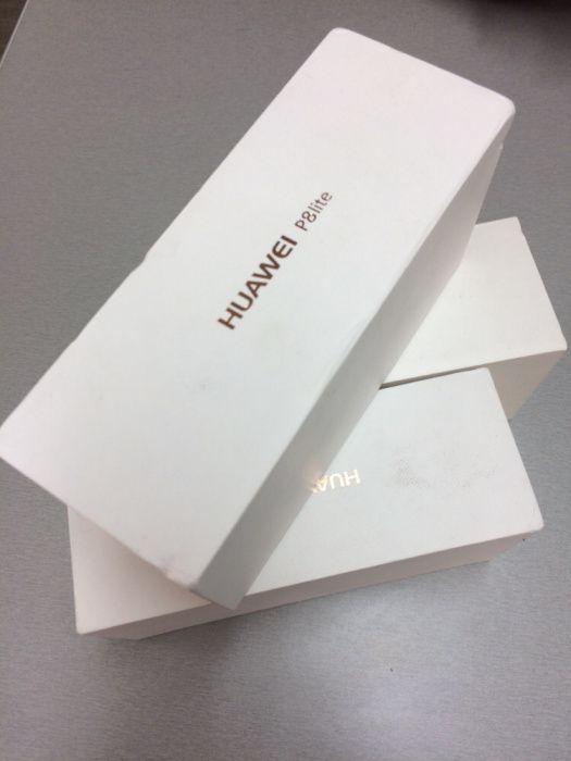 Huawei P8laite na caixa