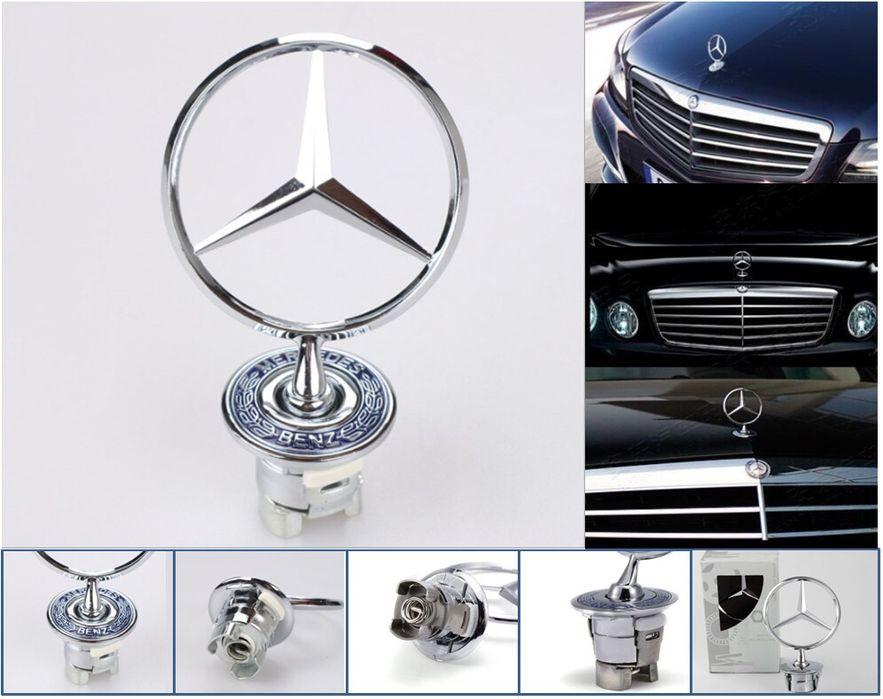 Емблема за Мерцедес оригинална Mercedes преден капак АМГ звезда мерник