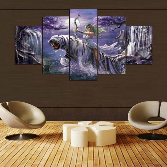 World of Warcraft картина пано тапет Уаркрафт плакат декор фототапет