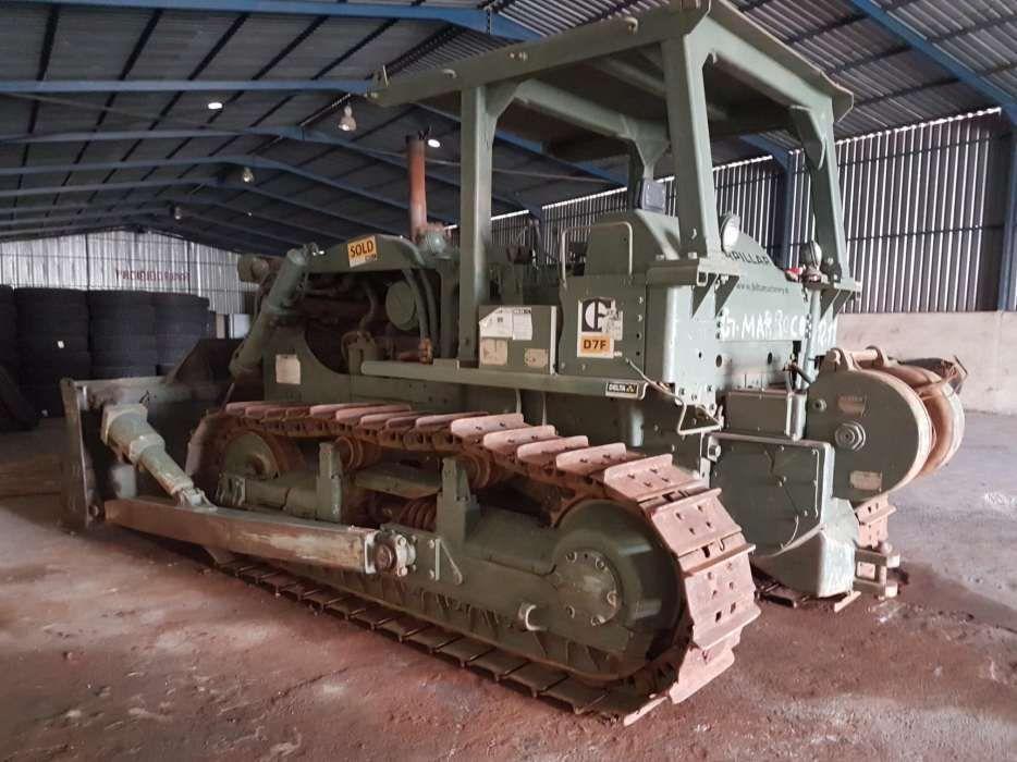 Venda Bulldozer Caterpillar D7F Para exploração florestal