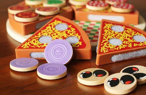Wood Pizza с лепки за деца всички дървени играчки на хубави цени гр. Бургас - image 3
