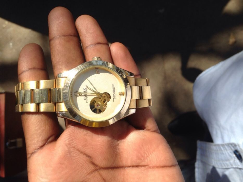 Vendo rolex gold edition