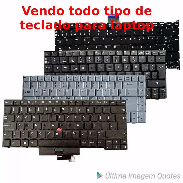 Vendo todo tipo de teclado para laptop