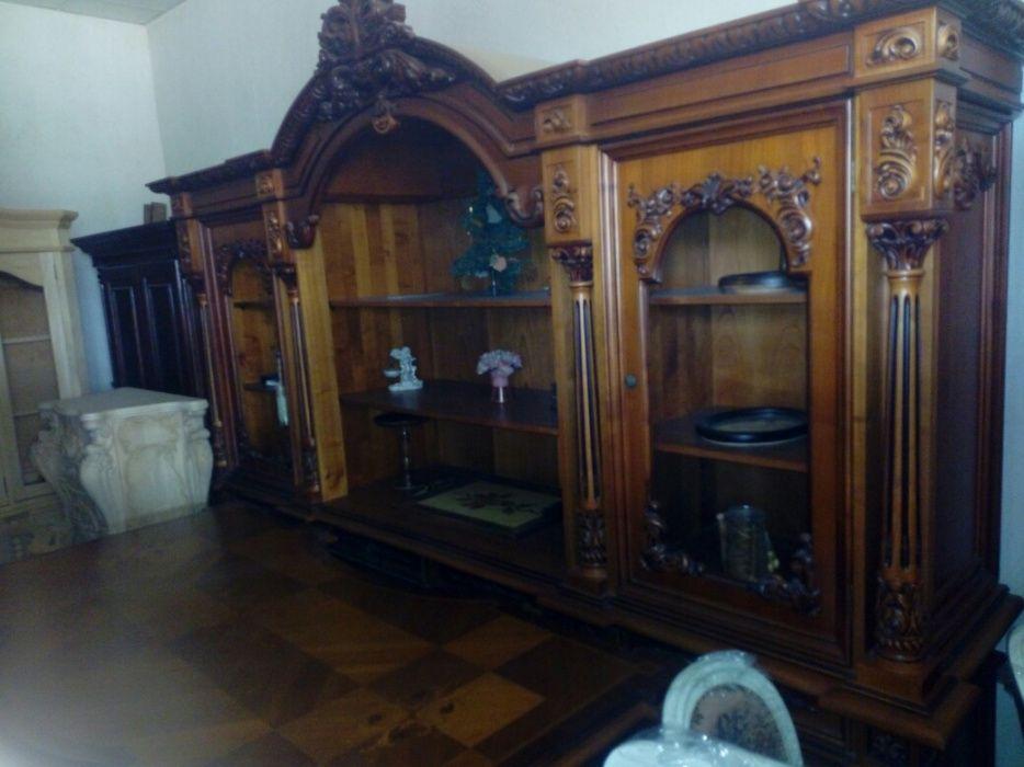 Biblioteca Constanta din cires, 290x66x240