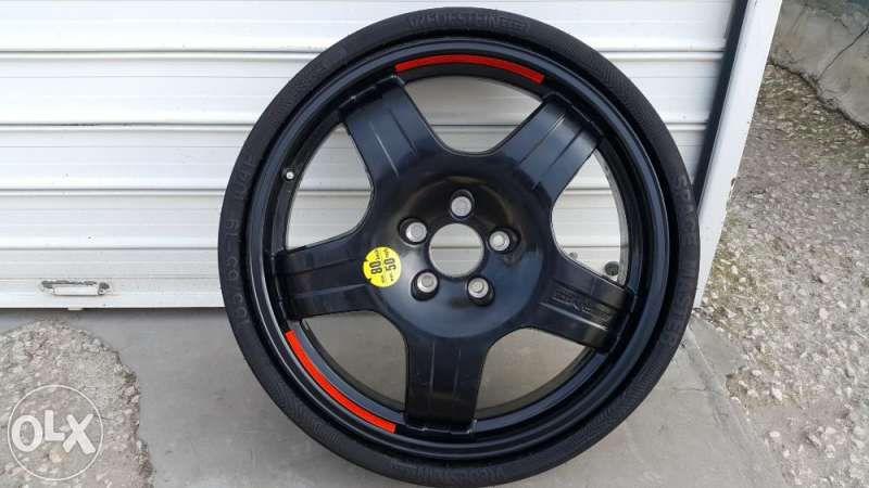 резервна гума патерица за мерцедес AMG 19цола и за ауди А8 след 2010г.