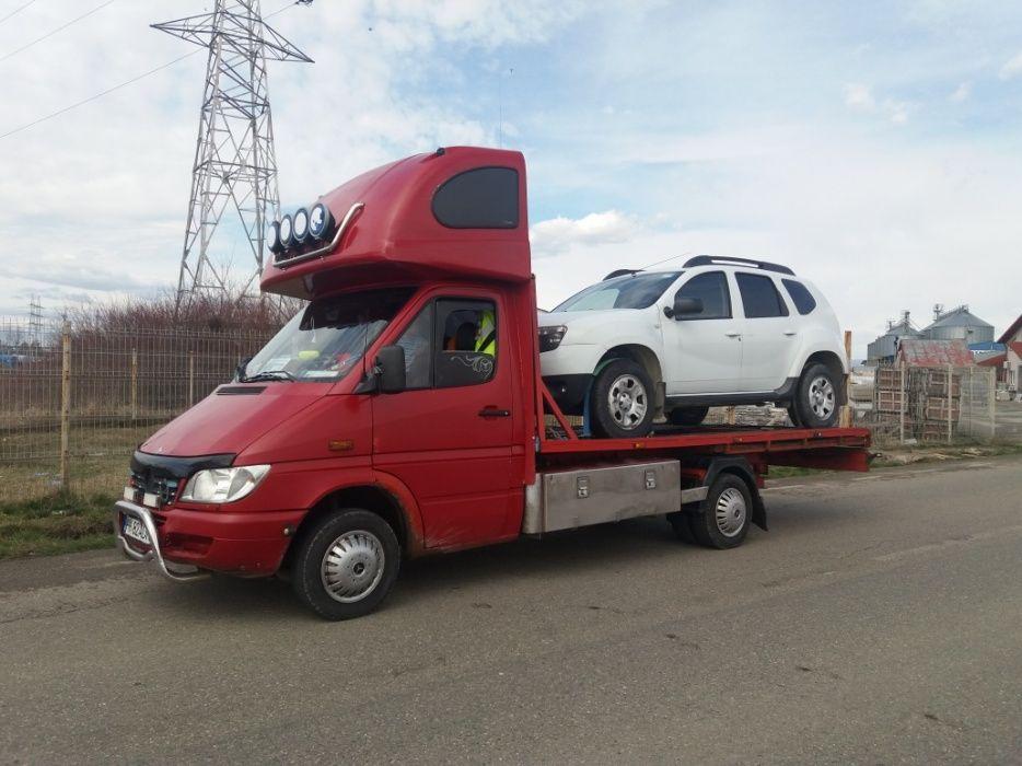 Tractari/platforma auto non stop dn1Azuga predeal Rîjnov service auto