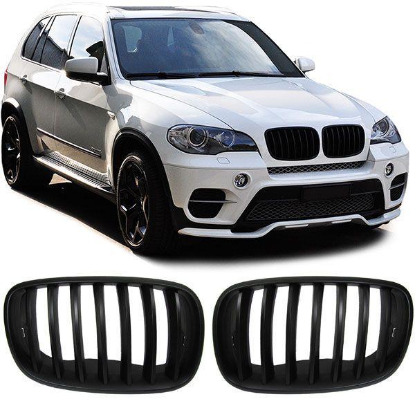 Grile negre BMW X5 E70 / X6 E71