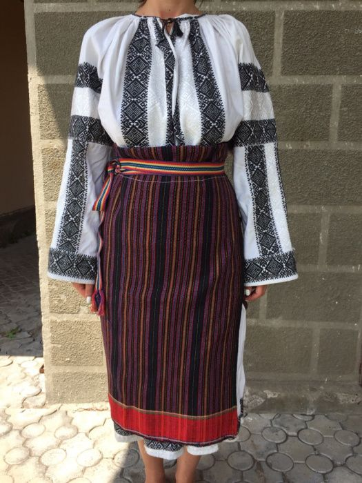 Costum popular zona moldovei