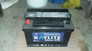 BateriaS 75A marca RAYLITE sao usadas com garantia