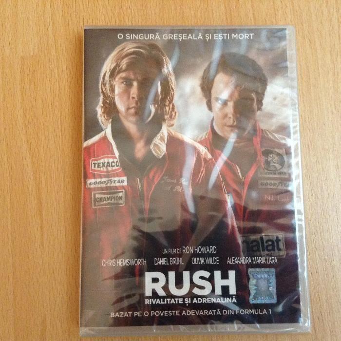 DVD Rush - rivalitate si adrenalina