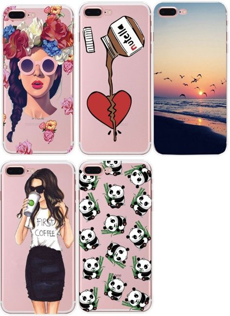 Husa cool,tari,fete,transparente,valentines day Iphone 5/5s/6/6s/7/8