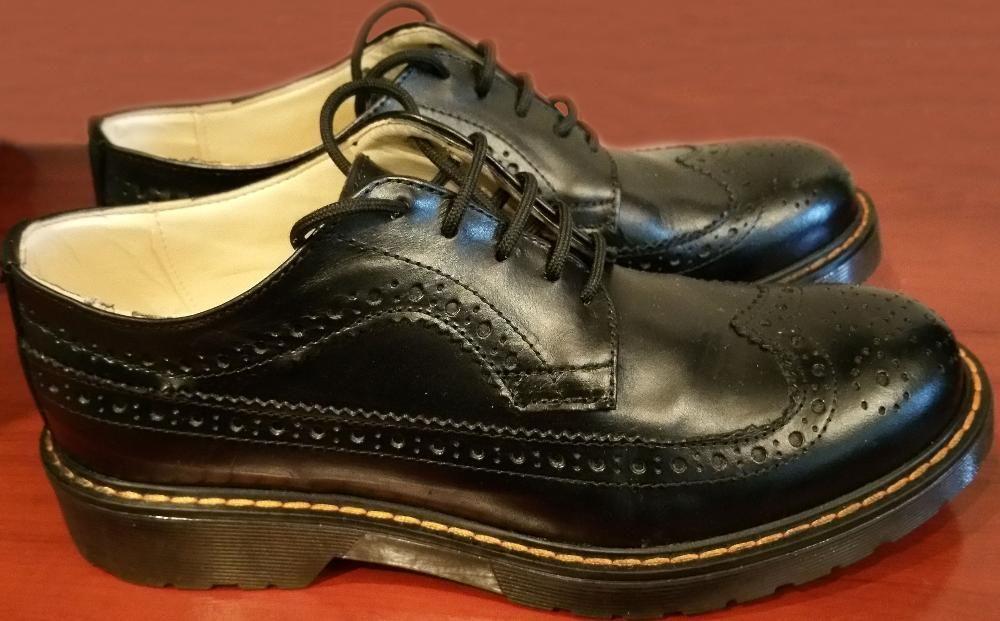 Pantofi noi piele naturala Made in Italy nr 37