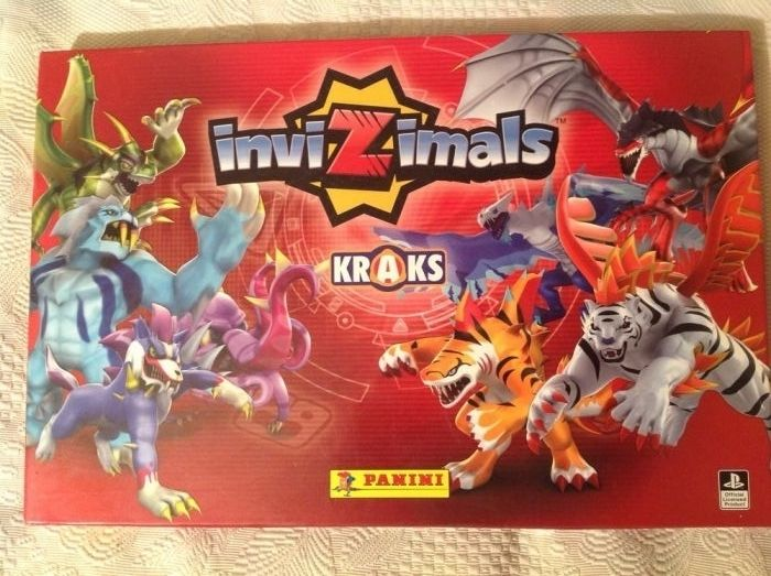 Cartonașe Invizimals originale Panini( licența Playstation)