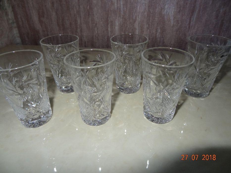 Хрустальные стопки 35 мл, 6 шт (NEMAN (Сrystal)