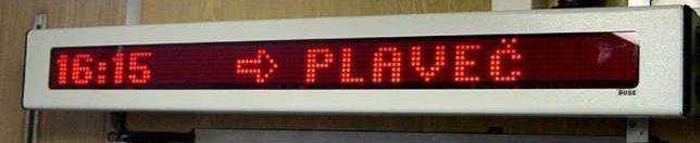 LED информационно табло