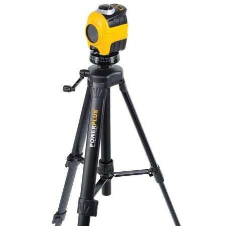 Nivela laser cu auto-nivelare cu baza de rotatie 360° si trepied