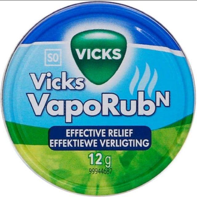 Vende-se Vick Vaporub Eficaz para inúmeras coisas