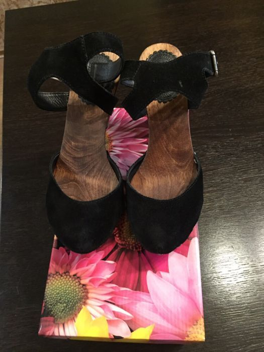 Pantofi piele Zara