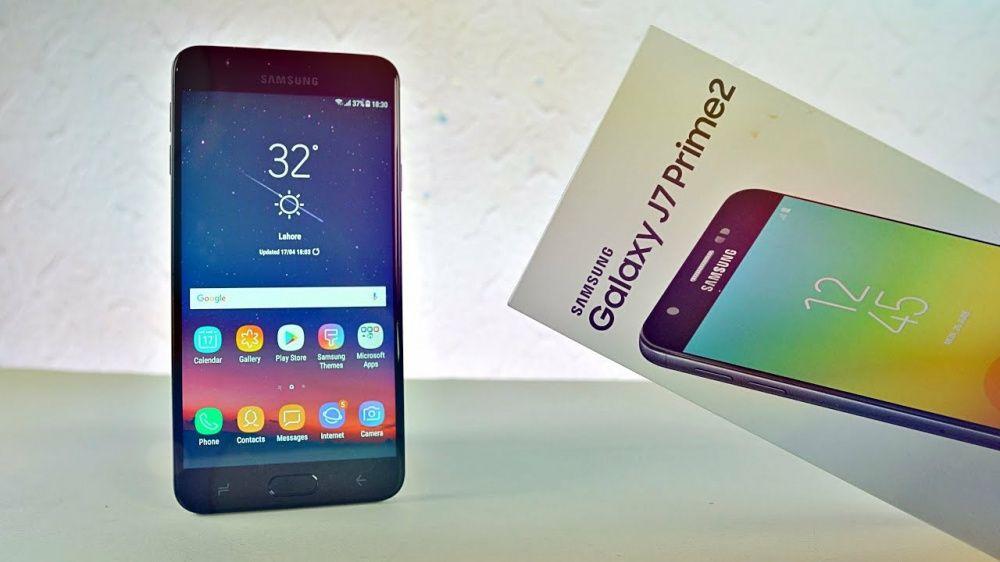 Samsung J7 Prime 2/novos na caixa.