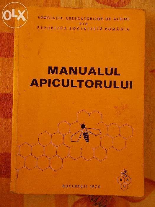 Manualul Apicultorului ,anul 1975 , carte Originala !