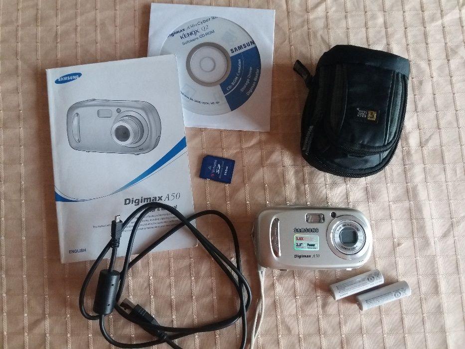 Фотоапарат и камера в едно Samsung Digimax A50