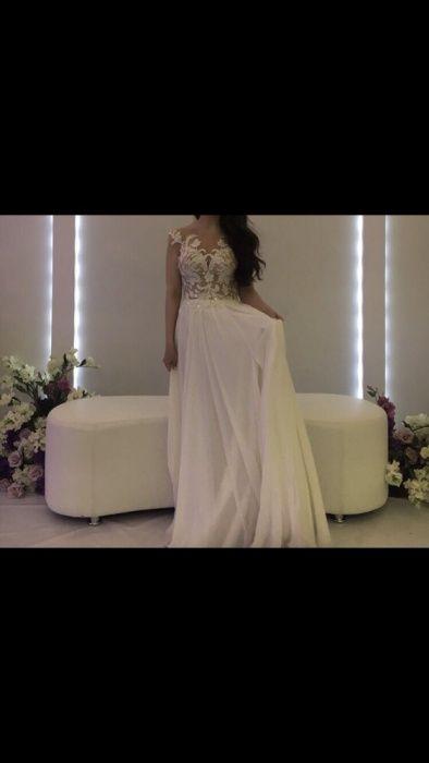 Продам шикарное платье СРОЧНО (свадебное/узату)