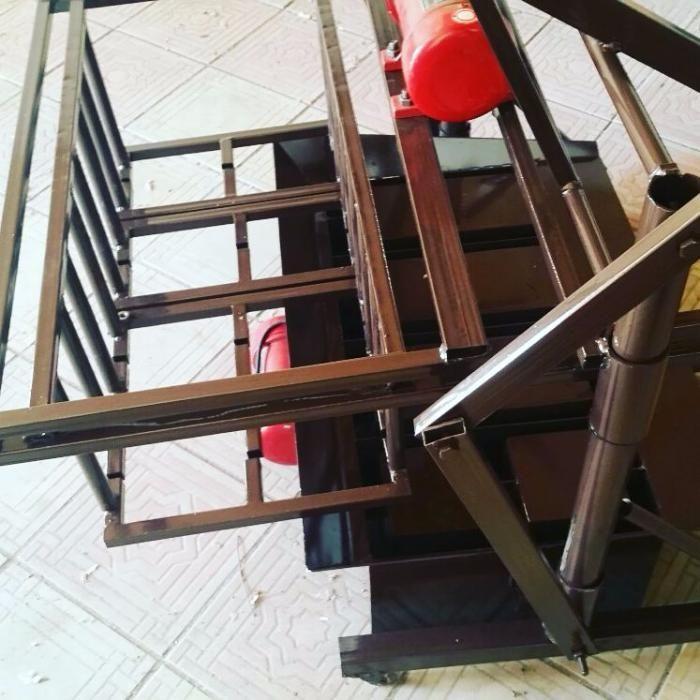 Станок для производства пескоблока, шлакоблока, сплитерного блока