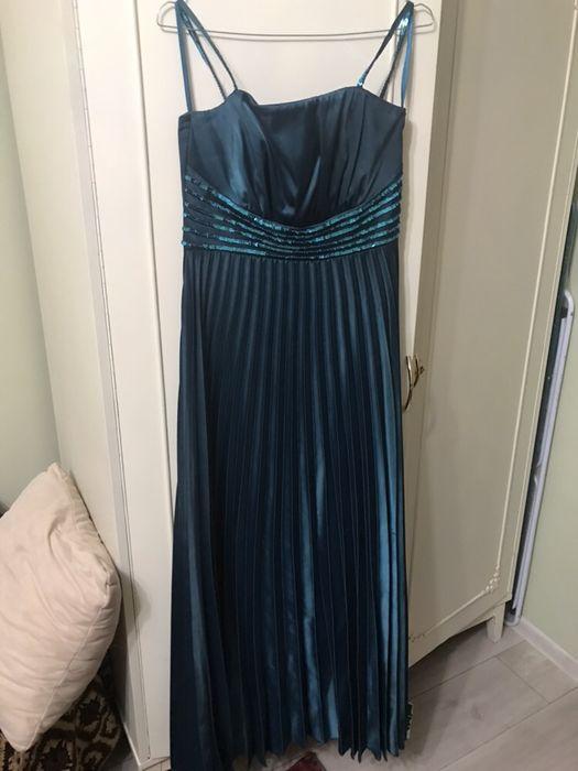 Rochie eleganta, lunga de seara/gala verde smarald, mar 42
