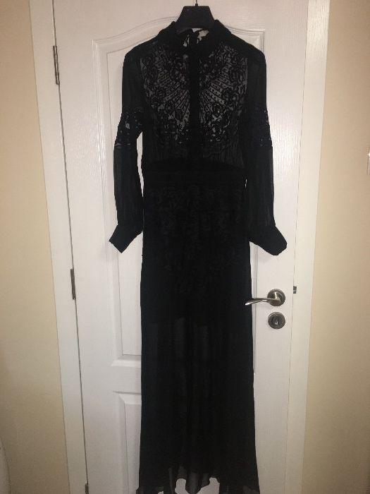 Уникална елегантна дълга рокля