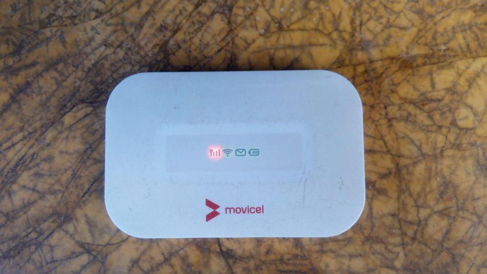 Wifi de bolso da Movicel 4G isso mesmo quatro G super rápida