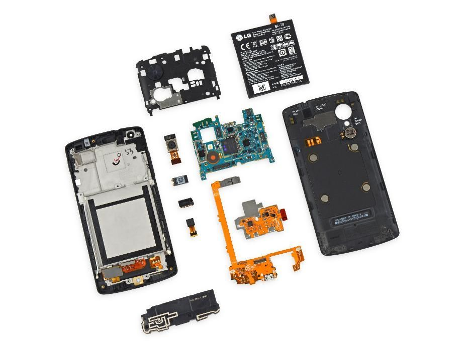 LG Nexus 5 PIESE: display camera baterie placa de baza capac NFC flex