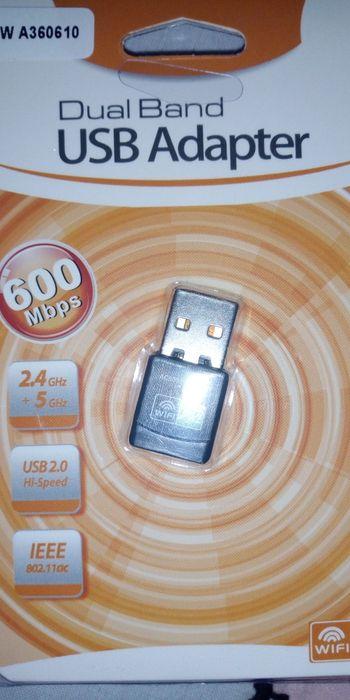 Adaptador WiFi USB 802.11ac. drivers free.