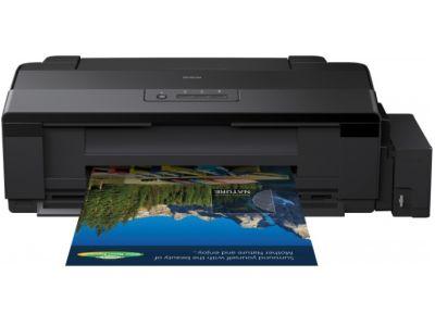 Cтруйный принтер A3 Epson L1300 C11CD81402 c СНПЧ и чернилами INK-MATE
