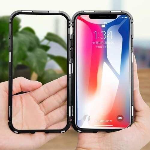 360 capa magnetica pada iphone x