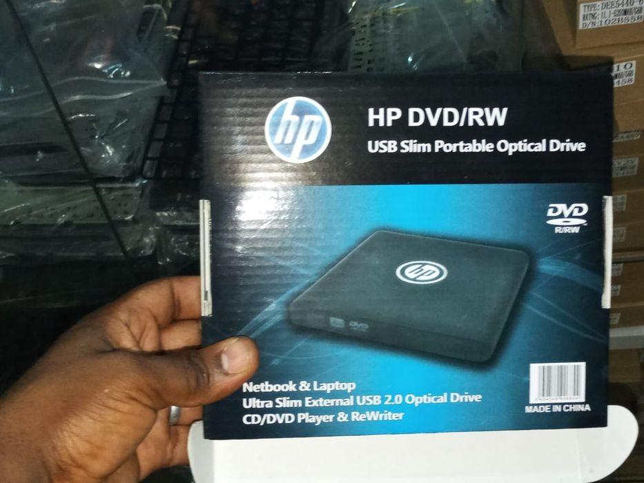 Dvd externo novo de marca HP
