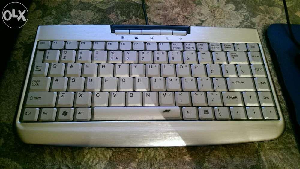Kit tastatura aluminiu Keysonic + mouse E-Blue