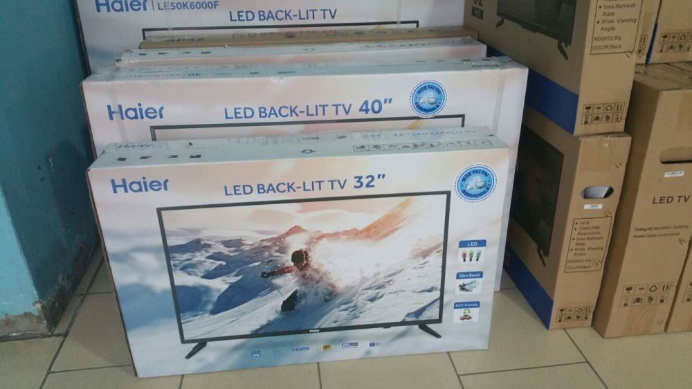 Grande promoção de tvs haier LED FULL HD 32 polegadas novinhas
