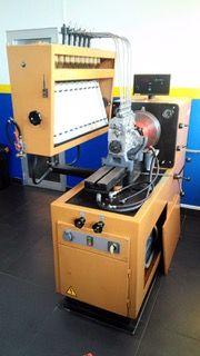 Laboratório teste bombas injectoras e injectores Diesel completo
