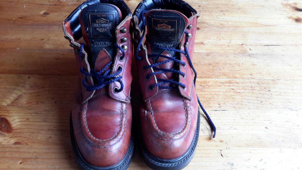 Оригинални обувки Харлей Дейвитсън 39 номер имат забележки