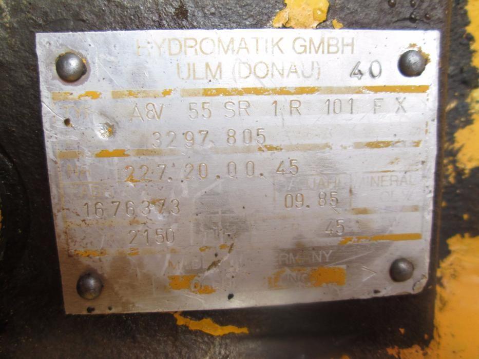Pompa Hydromatik A8V55SR1R101FX Brasov - imagine 6