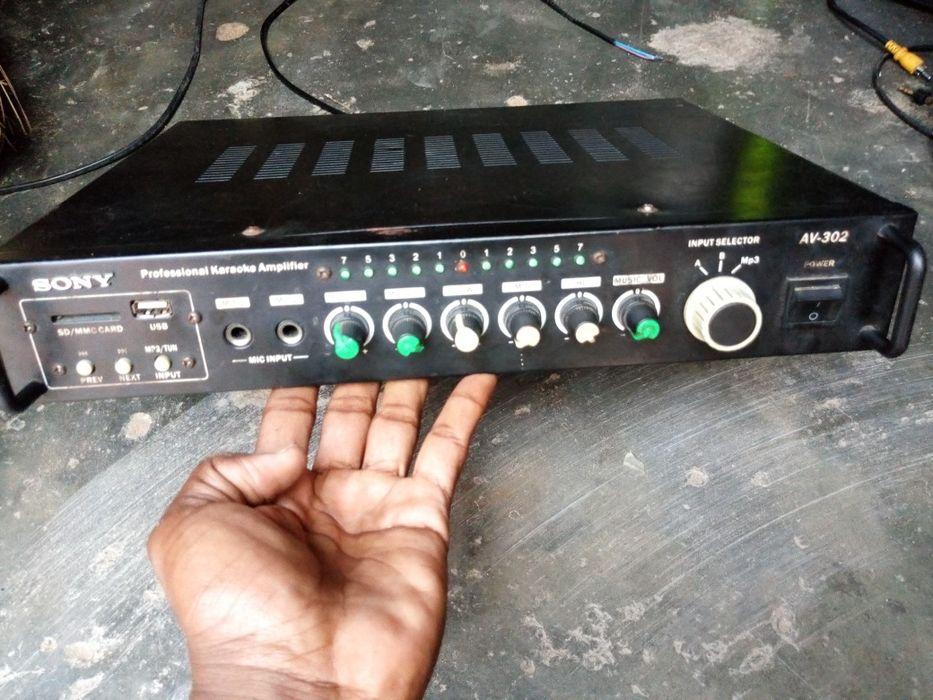Amplificador da Sony muito potente