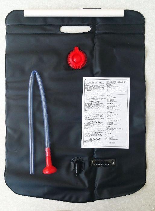 Къмпинг душ ( слънчев бойлер 20 литра)