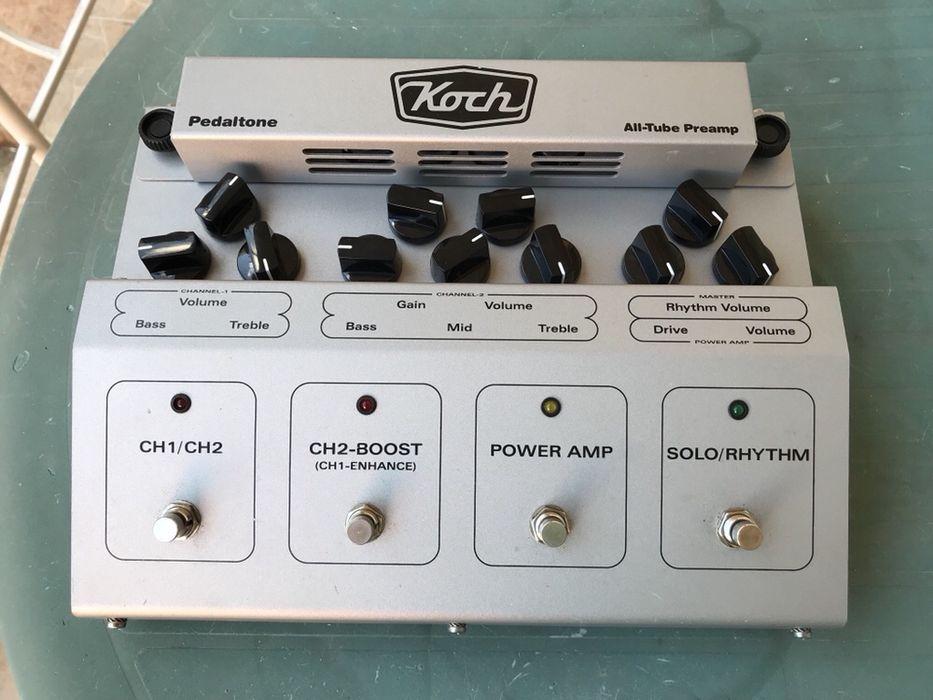 Лампов преамп за китара Koch Pedaltone