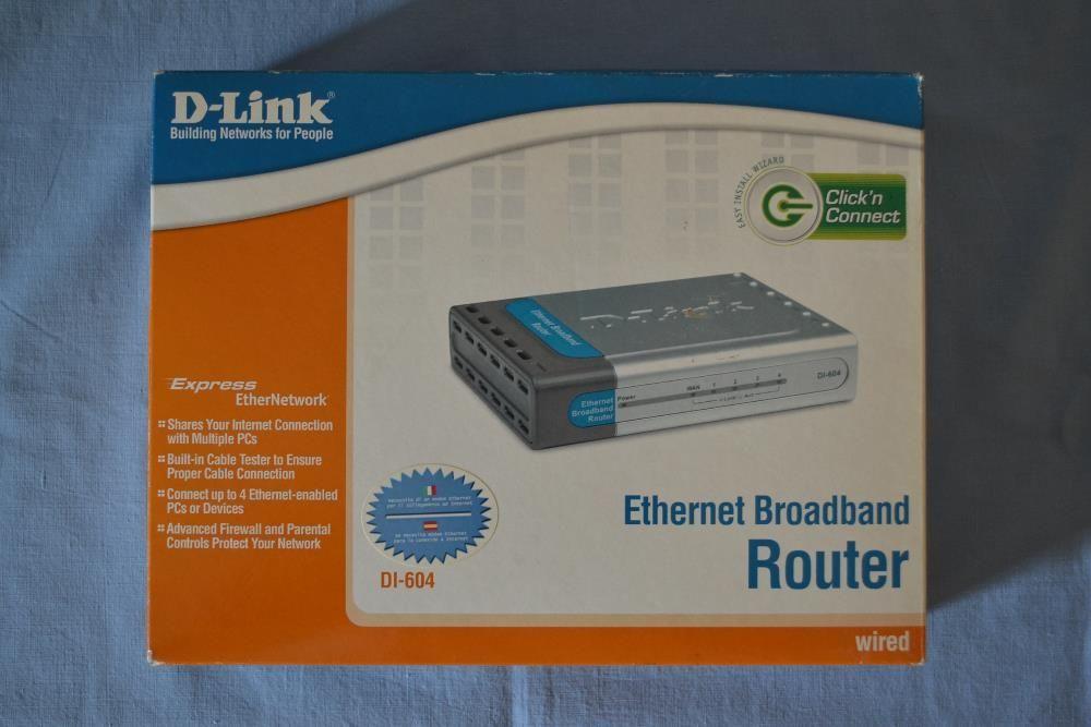Router D-LINK Dl-604