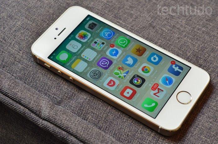 Apple iPhone 5s 32GB/novo! Fora da caixa!
