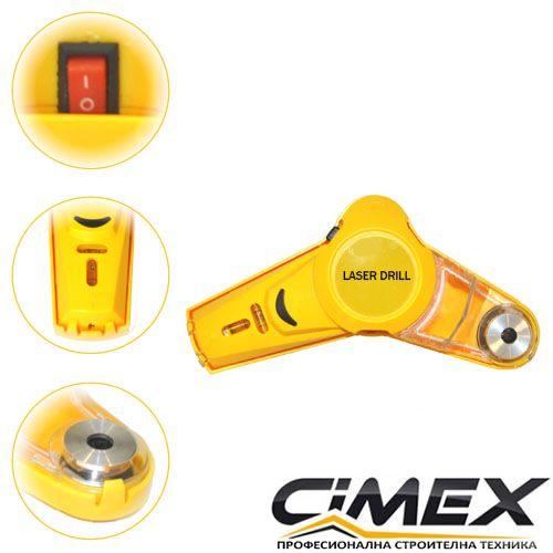Уред за изсмукване на прах при пробиване с лазер CIMEX QQ-SL11