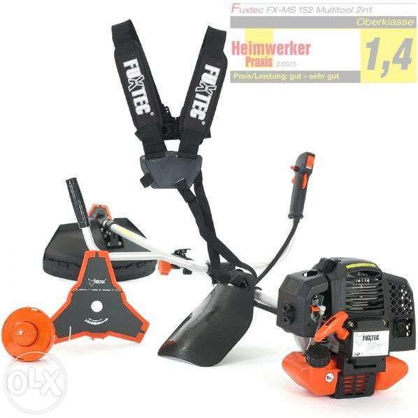 Motocoasa 2in1 Fuxtec FX-MS152 MODEL NOU 52 ccm 3 cai cu garantie Sacueni - imagine 1