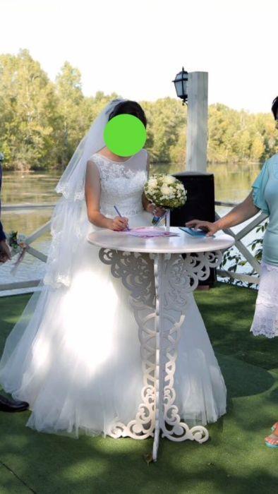 СРОЧНО продам свадебное платье, одевала всего один раз!!!