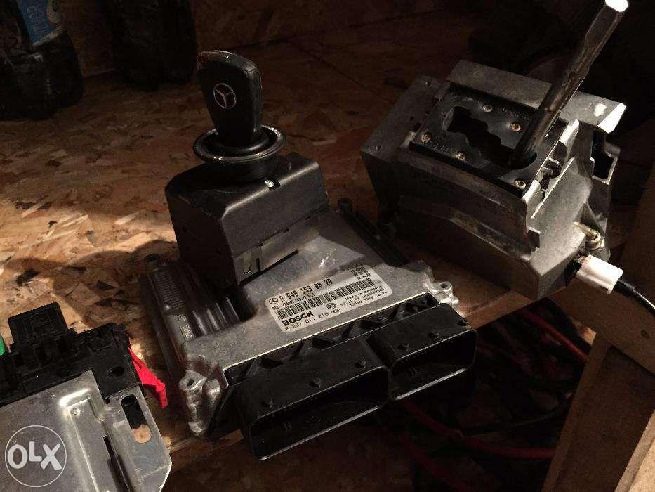 calculator motor s320 s350 s400 s500 s550 s600 w220 w221 kit pornire