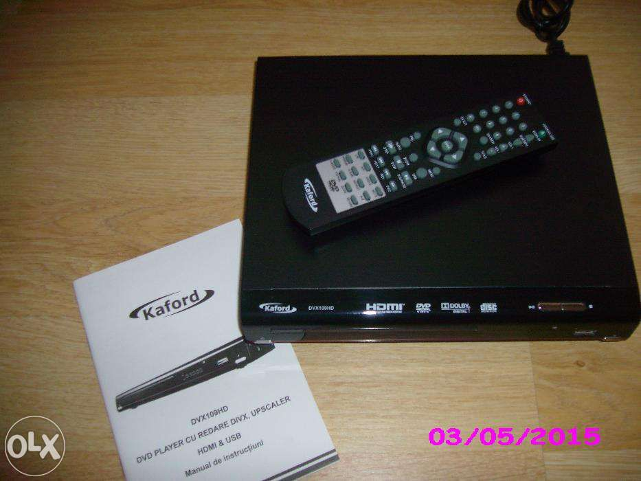 DVD Player, marca KAFORD